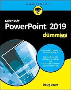 PowerPoint 2019 For Dummies (Powerpoint for Dummies)-cover