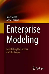 Enterprise Modeling: Facilitating the Process and the People-cover
