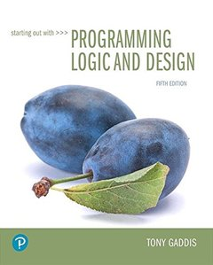 Starting Out with Programming Logic and Design (5th Edition) (美國原版)-cover