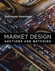 Market Design: Auctions and Matching (The MIT Press)-cover