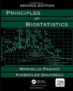 Principles of Biostatistics, 2/e (Hardcover)-cover