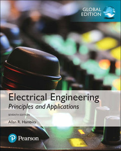 Electrical Engineering: Principles and Applications, 7/e (GE-Paperback)-cover