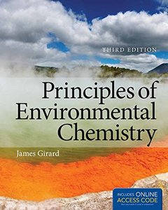 Principles of Environmental Chemistry, 3/e (Hardcover)-cover