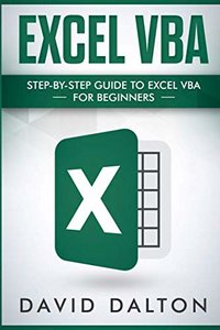 Excel VBA: Step-by-Step Guide To Excel VBA For Beginners-cover
