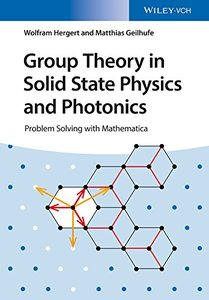 Group Theory in Solid State Physics and Photonics : Problem Solving with Mathematica (Paperback)-cover