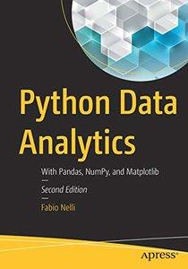 Python Data Analytics: With Pandas, NumPy, and Matplotlib-cover