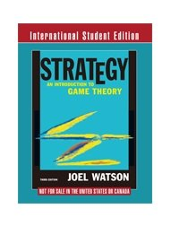 Strategy : An Introduction to Game Theory (IE)-cover