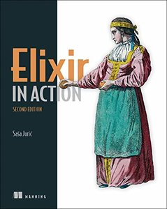 Elixir in Action, Second Edition-cover