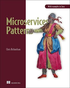 Microservices Patterns: With examples in Java-cover