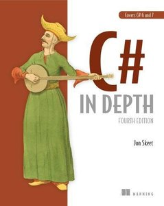 C# in Depth, 4/e (Paperback)-cover