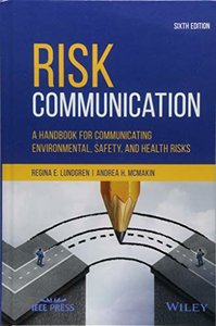 Risk Communication: A Handbook for Communicating Environmental, Safety, and Health Risks-cover