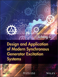 Design and Application of Modern Synchronous Generator Excitation Systems-cover
