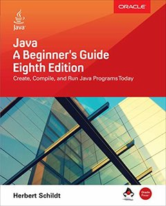 Java: A Beginner's Guide, 8/e (Paperback)-cover