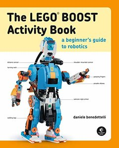 The LEGO BOOST Activity Book-cover