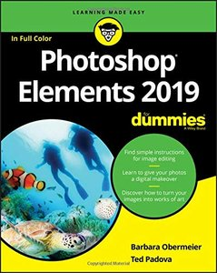 Photoshop Elements 2019 For Dummies-cover