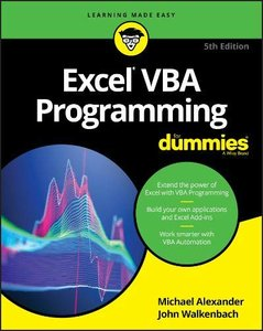 Excel VBA Programming For Dummies, 5/e (Paperback)-cover