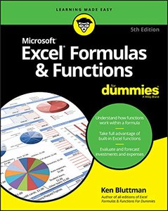 Excel Formulas & Functions For Dummies-cover