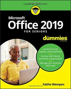 Office 2019 For Seniors For Dummies (For Dummies (Computer/Tech))-cover