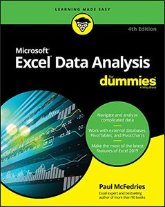 Excel Data Analysis For Dummies (For Dummies (Computer/Tech))-cover