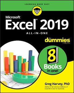 Excel 2019 All-in-One For Dummies-cover
