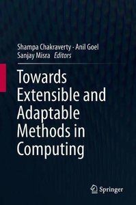 Towards Extensible and Adaptable Methods in Computing-cover