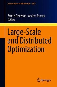 Large-Scale and Distributed Optimization (Lecture Notes in Mathematics)-cover