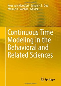 Continuous Time Modeling in the Behavioral and Related Sciences-cover