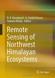 Remote Sensing of Northwest Himalayan Ecosystems-cover