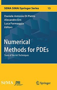 Numerical Methods for PDEs: State of the Art Techniques (SEMA SIMAI Springer Series)-cover