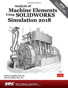 Analysis of Machine Elements Using SOLIDWORKS Simulation 2018-cover