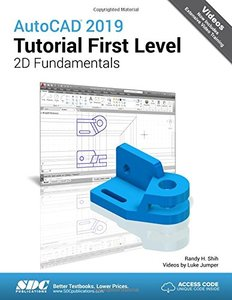 AutoCAD 2019 Tutorial First Level 2D Fundamentals-cover