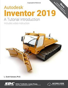 Autodesk Inventor 2019 A Tutorial Introduction-cover