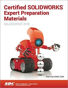 Certified SOLIDWORKS Expert Preparation Materials (SOLIDWORKS 2018)-cover