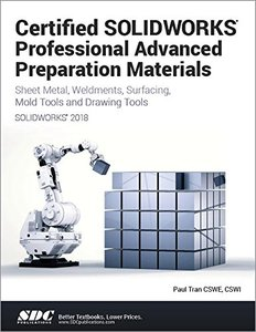 Certified SOLIDWORKS Professional Advanced Preparation Material (SOLIDWORKS 2018)-cover