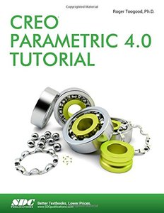 Creo Parametric 4.0 Tutorial-cover