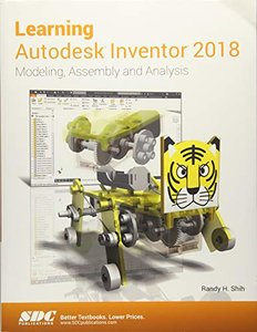 Learning Autodesk Inventor 2018-cover
