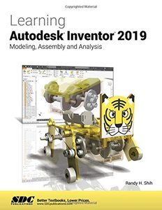 Learning Autodesk Inventor 2019-cover