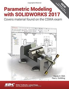 Parametric Modeling with SOLIDWORKS 2017-cover