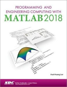 Programming and Engineering Computing with MATLAB 2018-cover