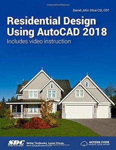 Residential Design Using AutoCAD 2018-cover