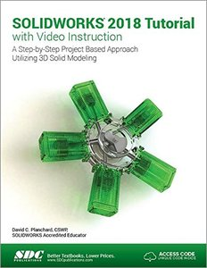 SOLIDWORKS 2018 Tutorial with Video Instruction-cover
