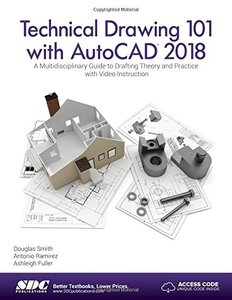Technical Drawing 101 with AutoCAD 2018-cover