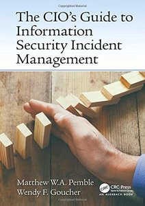 The CIO's Guide to Information Security Incident Management-cover