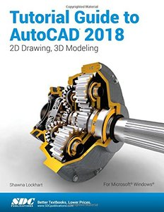 Tutorial Guide to AutoCAD 2018-cover