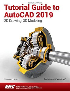 Tutorial Guide to AutoCAD 2019-cover