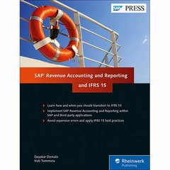 SAP Revenue Accounting and Reporting and IFRS 15 (SAP PRESS)-cover