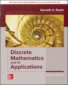 Discrete Mathematics and Its Applications, 8/e (Paperback)-cover