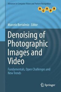Denoising of Photographic Images and Video: Fundamentals, Open Challenges and New Trends (Advances in Computer Vision and Pattern Recognition)-cover