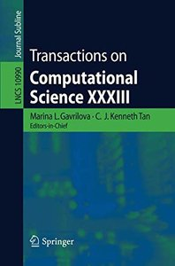 Transactions on Computational Science XXXIII (Lecture Notes in Computer Science)-cover