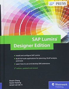 SAP Lumira, Designer Edition: The Comprehensive Guide (3rd Edition) (SAP PRESS)-cover